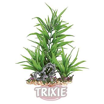 Trixie muovi kasvi Sora Bed 23 Cm. (kala, sisustus, Artificitial kasvit)