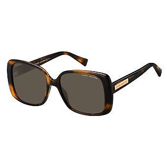 Marc Jacobs Marc 423/S DXH/IR Havana-Brown/Grey Sunglasses