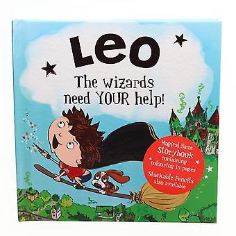Geschichte & Heraldik magischen Namen Storybook - Leo