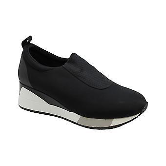 Alfani mujer caminante tela baja top Pull On Fashion Sneakers