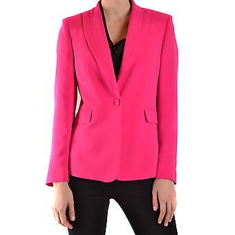 Hanita Ezbc433011 Women's Fuchsia Polyester Blazer