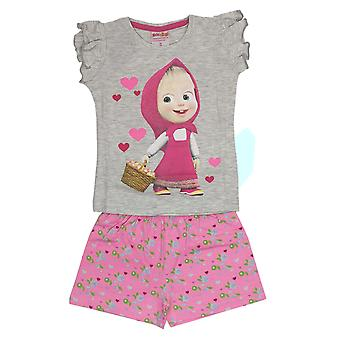 Masha and the bear pyjama girls