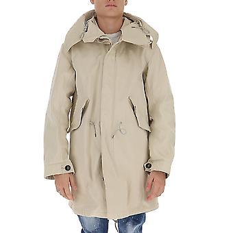 Ten C 13ctcuk04030002105103 Men's Beige Cotton Outerwear Jacket