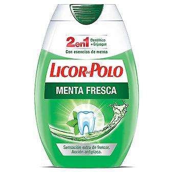 ليكور ديل بولو 2 في 1 زجاجة نعناع طازج