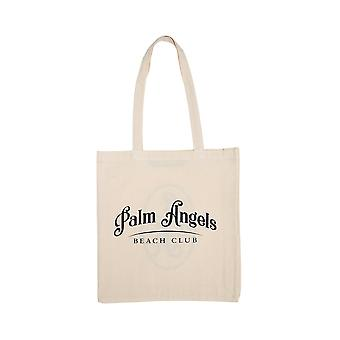Palm Angels Pwna014s20fab0010345 Women's Beige Fabric Tote