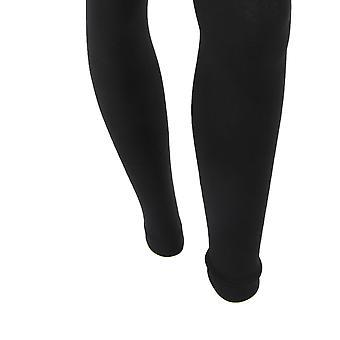 FLOSO Womens/Ladies Plain Thermal Leggings With Brushed Inner (0.5 Tog)