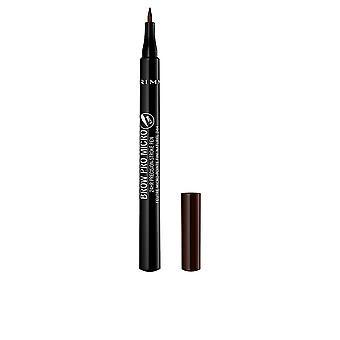 Rimmel London Brow Pro Micro Precision Pen #004 marrom escuro para mulheres