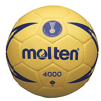 Molten 4000 IHF Match Handball Ball Yellow/Blue