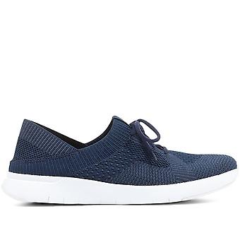 FitFlop Marbleknit Slip-On Sneakers