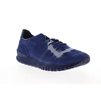 Onitsuka Tiger Samsara Lo  Mens Blue Suede Lifestyle Sneakers Shoes