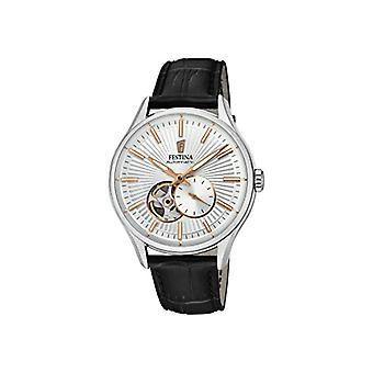 フェスティナ時計アナログ自動メンズ腕時計革 F16975 1
