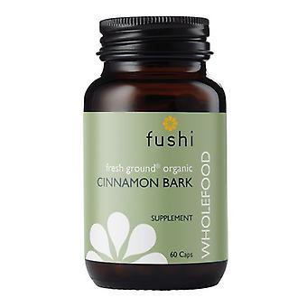 Fushi Wellbeing Organic Cinnamon Bark 333mg Veg Caps 60 (F0020725)
