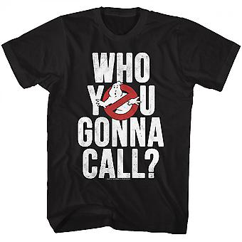 Ghostbusters Hvem Ya gonna Call? T-shirt