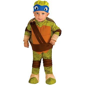 TMNT Leonardo småbarn dräkt