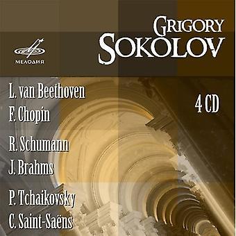 Grigory Sokolov - Grigory Sokolov Plays Beethoven, Chopin, Schumann, Brahms, Tchaikovsky, Saint-Sa Ns [CD] USA import