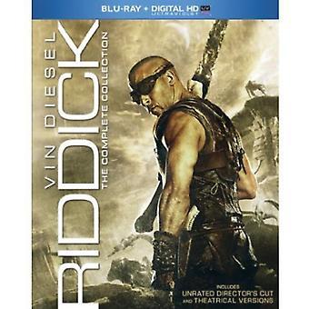 Riddick: Importazione Complete Collection [BLU-RAY] USA