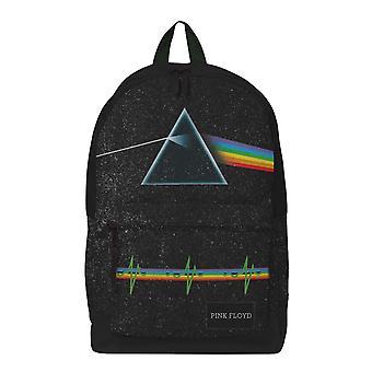 Pink Floyd Backpack Bag Dark Side Of The Moon Band Logo Official Rocksax Black