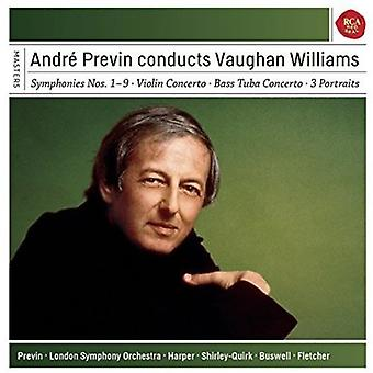 Andre Previn - Conducts Vaughan Williams [CD] USA import