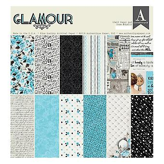 Authentique Glamour 12x12 Inch Paper Pad