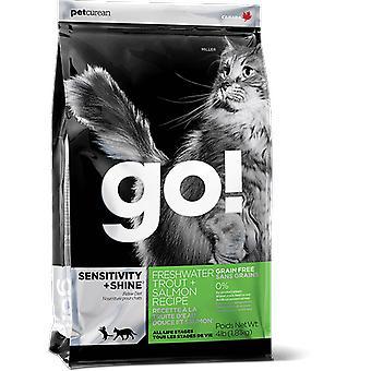行く!感性穀物フリートラウトサーモン (ネコ、食品、飼料)
