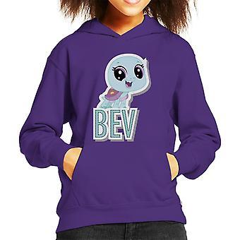 Littlest Pet Shop Bev Cut Out Lettering Kid's Hooded Sweatshirt