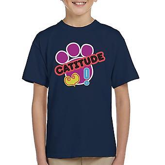 Littlest Pet Shop Catitude Kid's T-Shirt