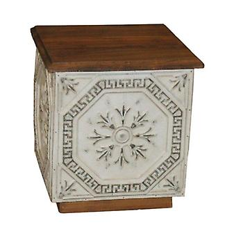 Deco4yourhome Coffee Table Old Ceiling Plates