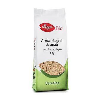 Økologisk Brun Basmati Rice 1 kg