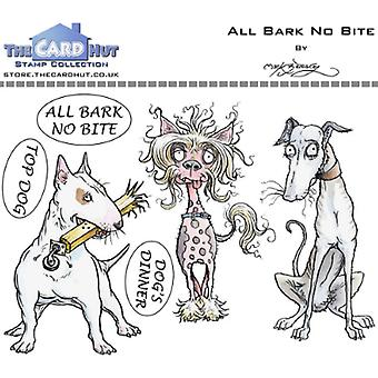 The Card Hut All Bark No Bite Clear Stamps