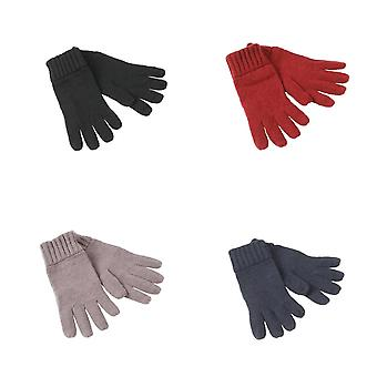 Myrtle Beach Adults Unisex Basic Melange Gloves