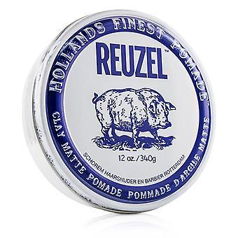 Reuzel 粘土マット ポマード 340 g/12 oz