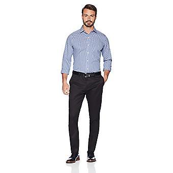 ABOTOADO Men's Slim Fit Stretch Non-Iron Dress Chino Pant, Preto, 29W x ...