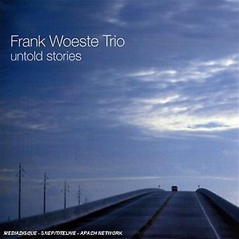 Frank Woeste Trio - Untold Stories [CD] USA import