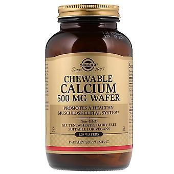 Solgar, Calcium à mâcher, 500 mg, 120 Gaufrettes