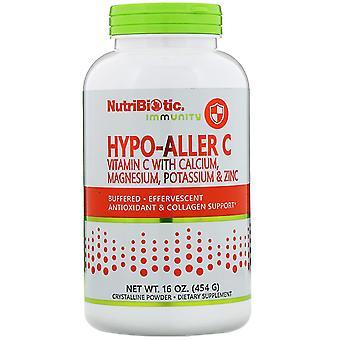 NutriBiotic, Immuniteit, Hypo-Aller C vitamine C met calcium, magnesium, kalium