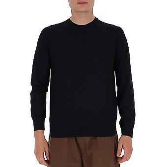 Prada Umm984c5wf0svf Männer's blaue Wolle Pullover