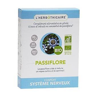 Organic passionflower 30 capsules of 360mg