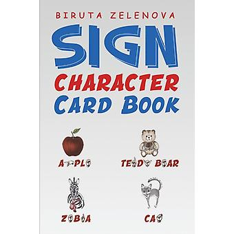 Sign Character Card Book by Biruta Zelenova