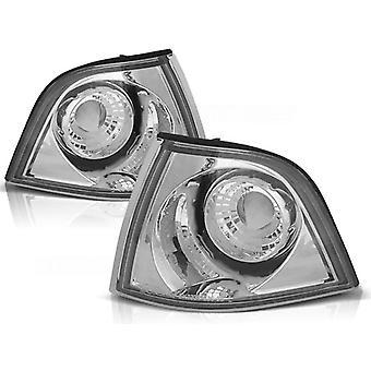 LAMPEGGIANTE LIGHTS BMW E36 12 90-09 99 CHROME
