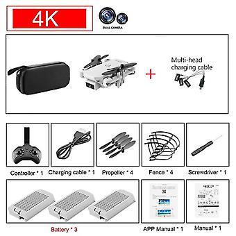 Mini Rc Drone 4k Hd-kamera Wifi Fpv Ilmanpaineen korkeuden ylläpito 15