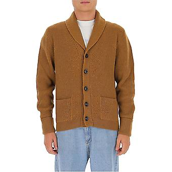 Tom Ford Bvk82tfk154m04 Men's Brown Cashmere Cardigan