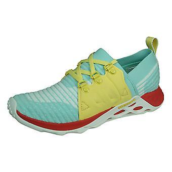 Merrell Range AC+ Damen Trail Lauftrainer / Schuhe - Aqua Blue