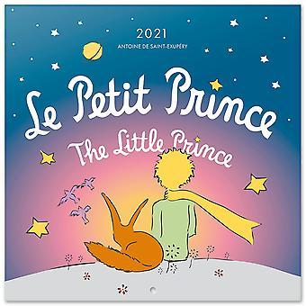 Le Petit Prince Calendar 2021 The Little Prince Official Calendar 2021, 12 Months, DIN A3, original English version.