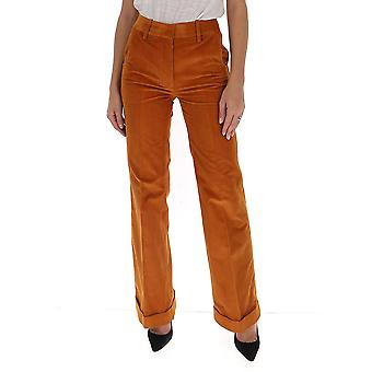 Victoria Beckham 1320wtr01543a Femmes-apos;s Orange Cotton Pants