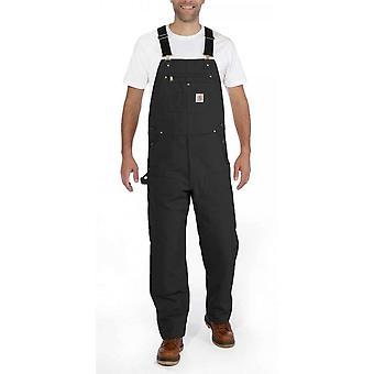 Carhartt 102776 zwart werk dungarees