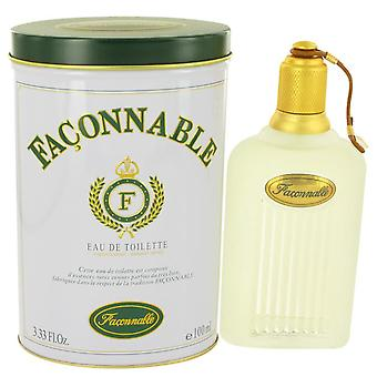 Faconnable Eau De Toilette Spray door Faconnable 3.4 oz Eau De Toilette Spray
