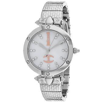 Nur Cavalli Frauen's Kleid Mutter der Perle Zifferblatt Uhr - JC1L122M0055