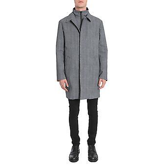Traiano Tt04tz08tc03 Men's Grey Wool Coat