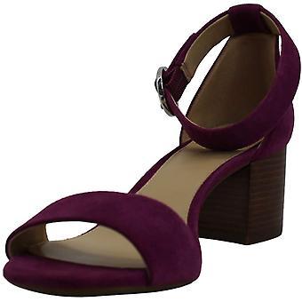 Michael Michael Kors Womens Lena Open Toe Suede Dress Sandals