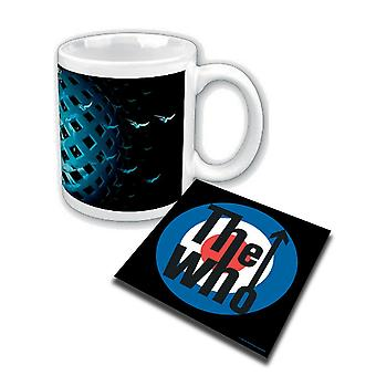 The Who Mug Tommy cover new official  and Coaster Gift set
